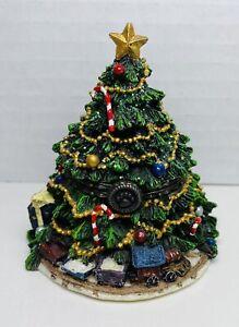 Boyds Bear Treasure Box Kringle's Christmas Tree W|Frazier McNibble #392129 CHIP