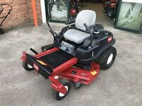 AS NEW Toro Zero Turn Ride On Mower, 50 Inch Fabricated Deck, ONLY 12 HOURS USE!