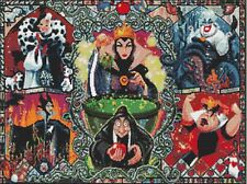 Disney Villains Counted Cross Stitch Kit. Tv / Film Cartoon Characters