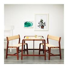 Ikea Children's table with 2 benches YPPERLIG,Solid beech,natural material