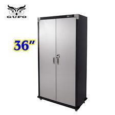 "GUFO 36"" Tall Upright Cabinet Toolbox Work Garage Storage Shop Shed Cupboard"