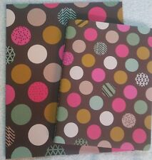 Composition notebook & folder New Rosetta by Pink Light Studio by Class Act Dots