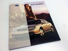 1999 Chevrolet Malibu Brochure USA