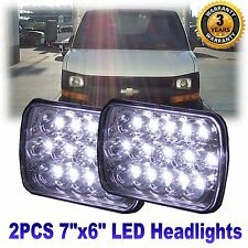 2× CREE LED Headlight Sealed Beam for Chevrolet Express Cargo Van 1500 2500 3500