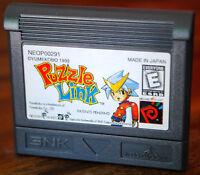 Jeu PUZZLE LINK pour Neo Geo Pocket Color (cartouche seule + boitier) NEUF !
