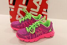Fila Girl's Radical Lite 2 Running Athletic Shoes Purple & Pink Girl Size 11 NEW