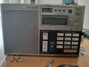 ICF 7600D Radio Weltempfänger Defekt