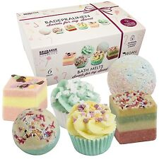 "BRUBAKER Cosmetics Bath Bombs ""Sweets For My Sweet"" Gift Set Handmade and Vegan"
