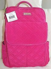VERA BRADLEY Ultimate Backpack Fuchsia Pink Microfiber - Brand New with Tag