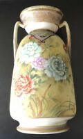 Vintage Nippon Hand Painted Vase   *Great Piece!    *Free USA Shipping!