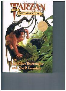 Tarzan: Lost Adventures HC, Dark Horse, Edgar Rice Burroughs, Joe Lansdale, VF+