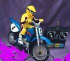 Vintage 1999 Tyco RC Mini X-Treme Cycle Jeremy McGrath Yahama + Remote. Working.