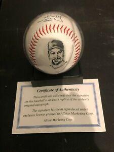 1998 Mark McGwire Replica Collector Baseball Encased w Certificate NIB