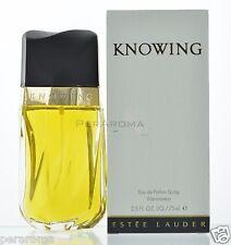 Knowing by Estee Lauder  Eau De Parfum for women 2.5 OZ 75 ML Spray