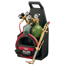 Portable Welding Port A Torch Kit With Oxygen And Acetylene Tanks And 12 Ft Hose
