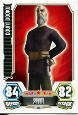 Star Wars Force Attax Series 3 Card #87 Count Dooku