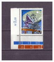 DDR, Bodenfunkstelle Intersputnik MiNr. 2122 Randstück, 1976**