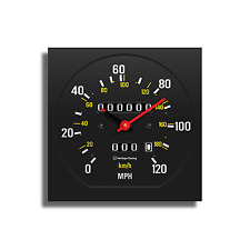 Personalized Volvo 240 Speedometer Wall Clock