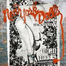 NEW YORK DOLLS - DANCING BACKWARD IN HIGH HEELS  CD+DVD NEU