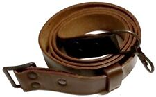 *Romanian Soviet Brown Real Leather Sling For Military or Hunting Rifle Buy One!