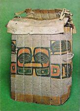 Postcard Tlingit Slat Armour - Wood Bound w Sinew SE Alaska 1816 British Museum