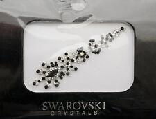 Bindi bijoux piel boda frente strass cristal de Swarovski negro D ING 3683