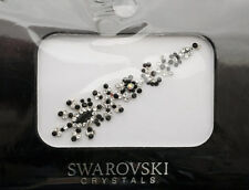 Bindi bijoux de peau mariage front strass cristal Swarovski noir ING D  3683