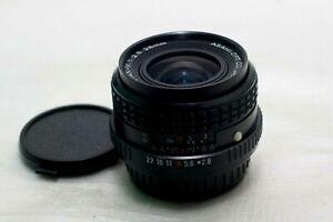 SMC Pentax 28mm f2.8 Lens K-mount *Excellent*