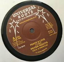 "PETER ROOTS / R.D.K & DISCIPLES / RASTA INDIAN / 10"" UNIVERSAL ROOTS / 2004"
