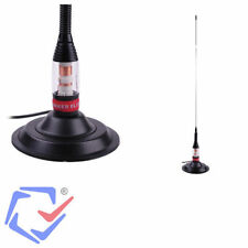 CB Stainless Radio Antenna Aerial Mount Kit 600W 4dBi With Magnetic Base