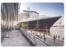 Ansichtskarte:Hamburg -Kreuzfahrtschiff Queen Mary 2 im Cruise Center Hafen City