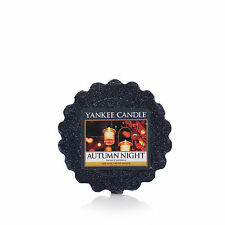 YANKEE CANDLE cialda da fondere wax melt tarts Autumn Night durata 8 ore