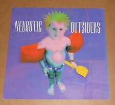 Neurotic Outsiders Poster 2-Sided Flat Square 1996 Promo 12x12