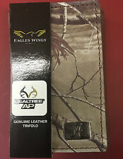 University of Alabama Realtree AP Camouflage Genuine Leather Trifold Wallet