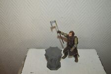 Figurine Gimli + Base the Lord of Rings 2001 Marvel Figure Lord of Ring