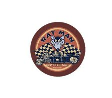 Rat Man Vintage Racing Hot Rod Racing Vinyl Sticker 4 Stickers