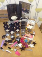 Vintage Bratz Hairdressing Bundle of Sinks chairs and many accessories