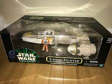 Star Wars Power of the Force Y-Wing Fighter NIB