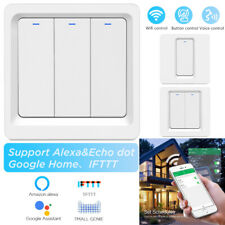 Smart Life WIFI Light Switch Remote For Alexa Google Home IFTTT Voice Control