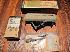 "Magpul Pardner Pump Shotgun Forend w Angled Foregrip AFG 5"" Rail Desert TAN"