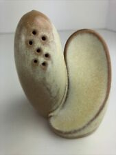 Frankoma, Light Sand Color, Salt And Pepper Duo In Mint Condition. Free Shipping