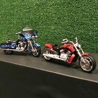 Hallmark Harley Davidson Motorcycle Christmas Ornaments Street Glide FLHX - VRSC
