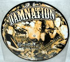 "DAMNATION 4 October 10"" EP Horror Punk THE LIVING END Misfits HELLO DISASTER OOP"