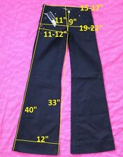 139$ NWT Miss Sixty DL0041 NEW TULUM W26 L32 jeans boot cut stretch cotton black