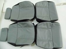 1979-1983 Datsun 280ZX Synthetic Leather Grey & Black Seat Covers
