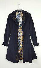NWT Doctor Who Hot Topic BBC Tardis Coat Public Call Jacket Women's Size XS