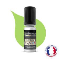 E-Liquide E-Saveur Saveur Pomme Verte Taux Nicotine 12 mg pour Cigarette