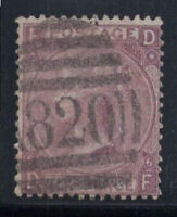 Großbritannien 1867 Mi. 29 Gestempelt 80% 6 Pence, Königin, D, F.