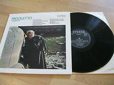 LP Rigoletto Giuseppe Verdi Ingvar Wixell Vinyl Schallplatte ETERNA DDR 826297
