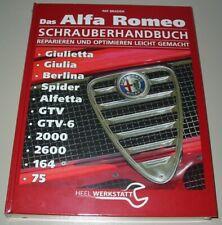 Reparaturanleitung Alfa Romeo Giulietta Giulia Berlina Spider Alfetta GTV 75 NEU
